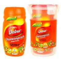 "Чаванпраш ""Апельсин"" (Chyawanprash Orange) 500 г, Dabur + подарок"