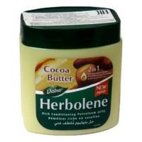 ВАЗЕЛИН КОСМЕТИЧЕСКИЙ с маслом КАКАО и витамином Е, Dabur Herbolene,  225мл