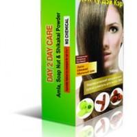 Сухой натуральный шампунь для волос 3 в 1 Day 2 Day Care, 100 г