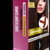 Сухой натуральный шампунь для волос ШИКАКАЙ, 100г